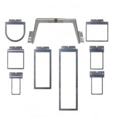 Kleberahmen Set (Rahmenhalterung + alle 8 Rahmen)