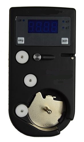 Elektronisches Unterfadenspannungsmeßgerät